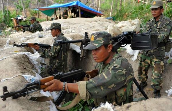 Cambodia Soldier 02