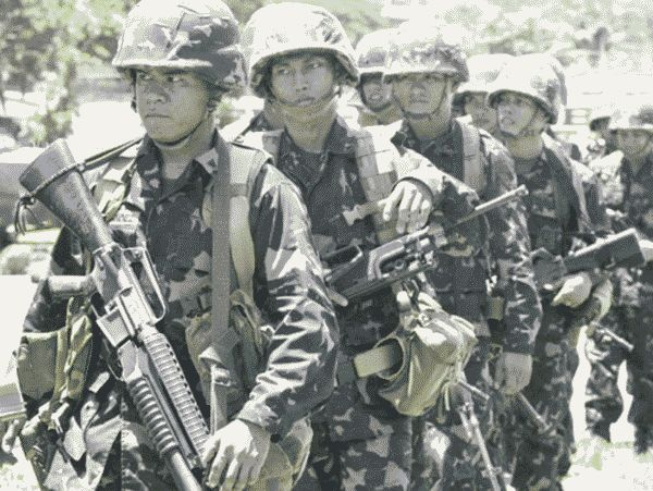 Filipino Marines