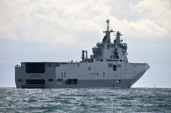 French Mistral-class assault ship