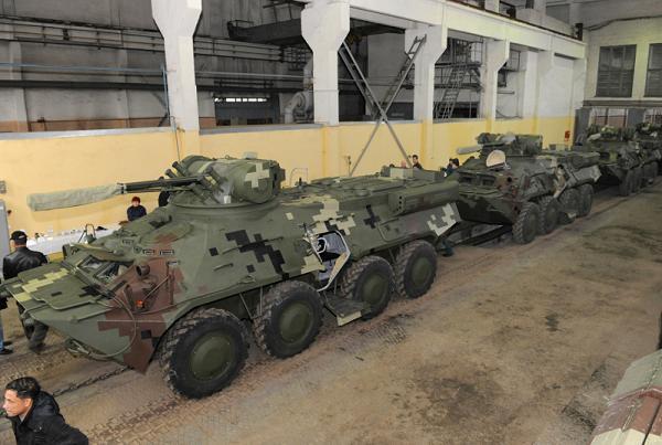 Ukrainian BTR3