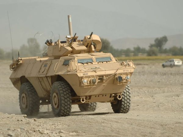 US M1117 Armored Security Vehicle