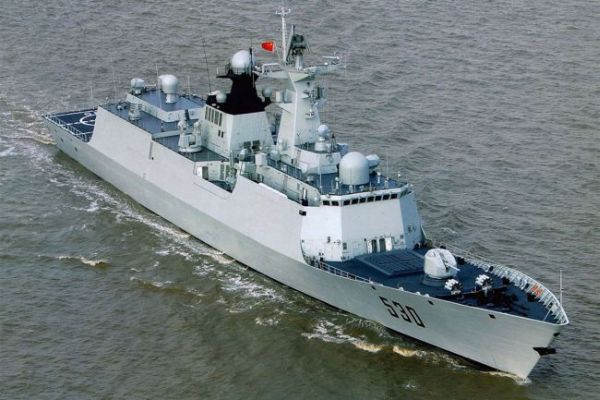 Chinese Type 054A Missile Frigate