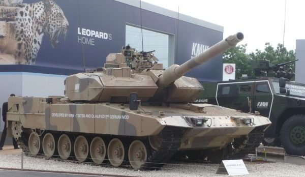 German Leopard 2A7