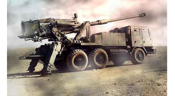 Israeli ATMOS sp truck