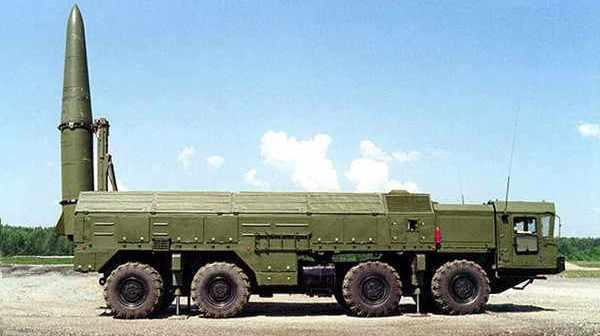 Russian Iskander missile