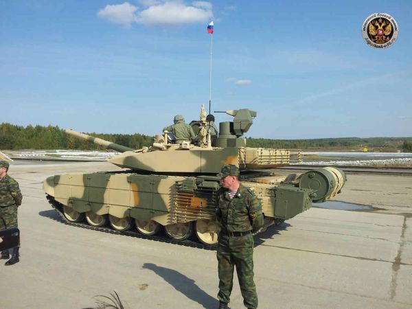 Russian T90MS MBT