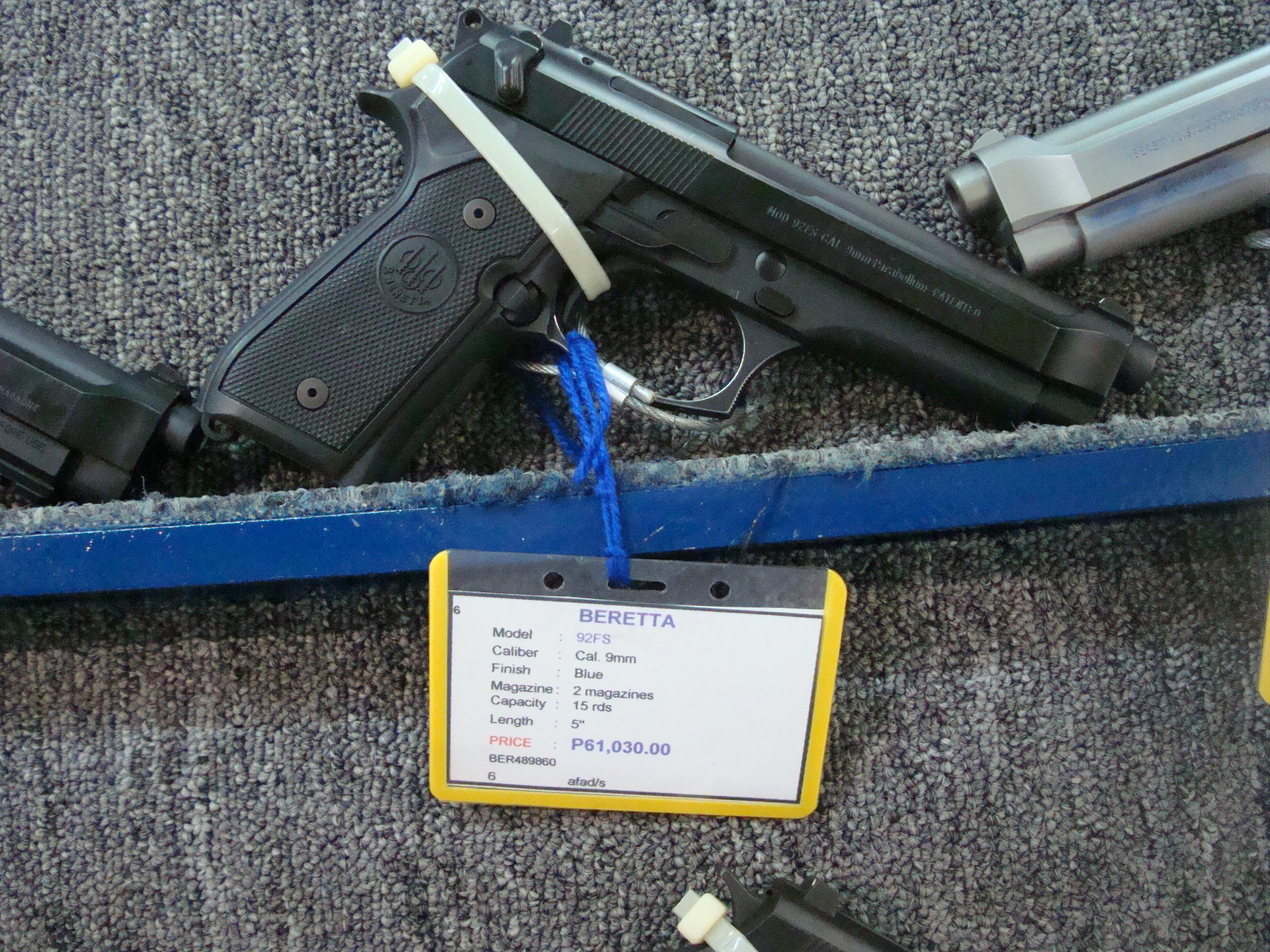 Beretta 9Mm Assault Rifle