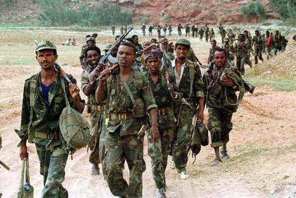 Ethiopian fighters