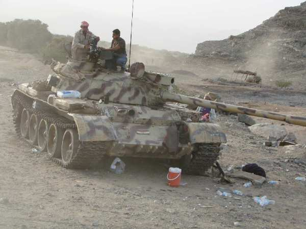 Yemen Army tank