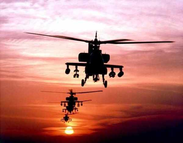 US AH-64 Apache