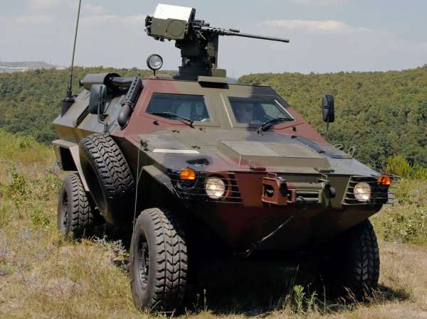 Turkish Otokar Cobra