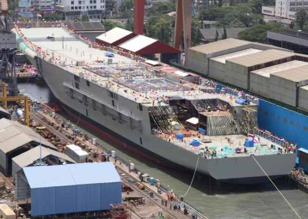 Indian INS Vikrant carrier 02