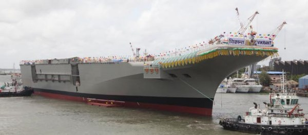 Indian INS Vikrant carrier
