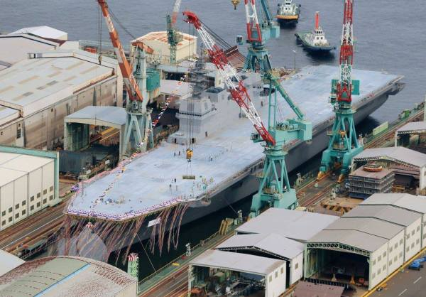 Japan Izumo aerial view