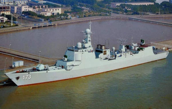 Chinese Type-052D Destroyer v2