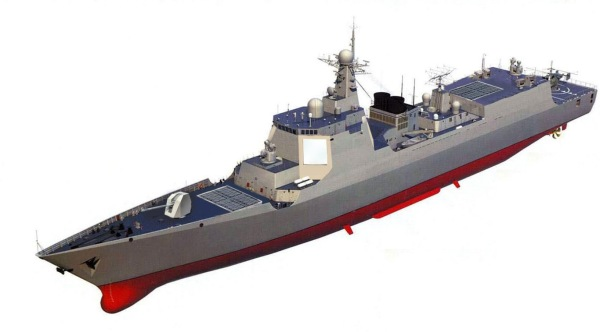 Chinese Type-052D Destroyer