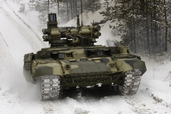 Russian BMPT-72