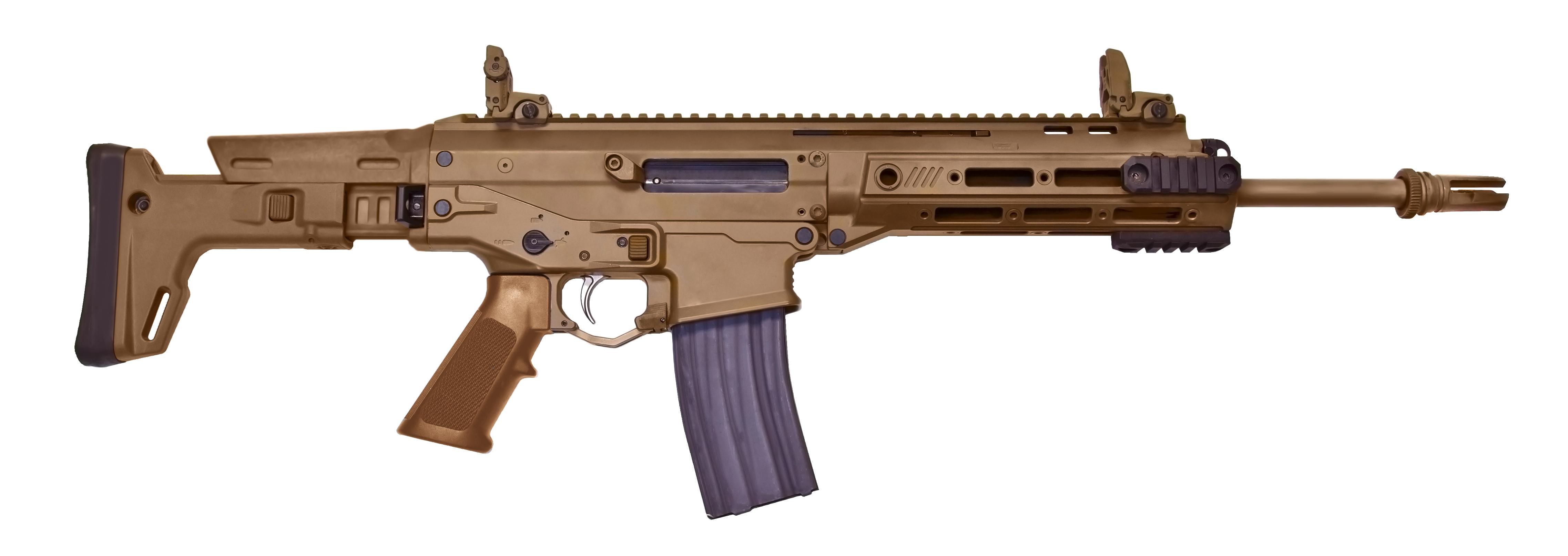 The Assault Rifles Of Near Future 21st Century Asian