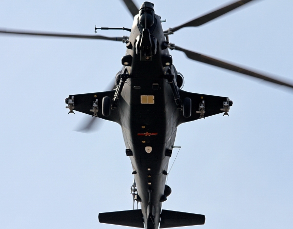 Chinese Z-10 attack helicopter 2