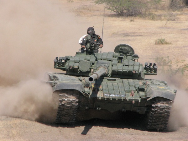 Indian T-72