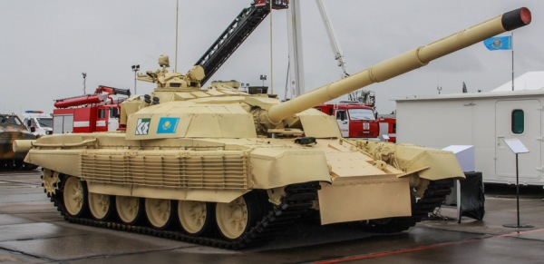 Kazakhstan Army T-72 MBT 02 upgraded