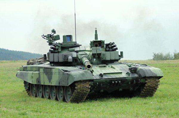 Russian T-72 modernized Israel-Czech