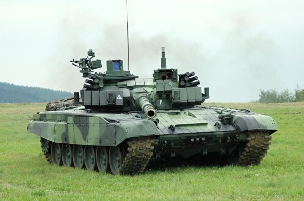 Russian T-72 modernized Israel-Czech
