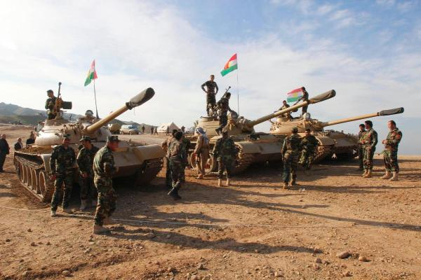 Kurdish tanks