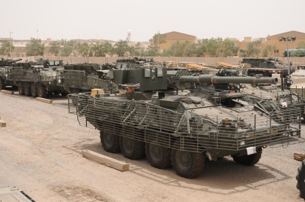 Third Army moving Strykers to Afghanistan