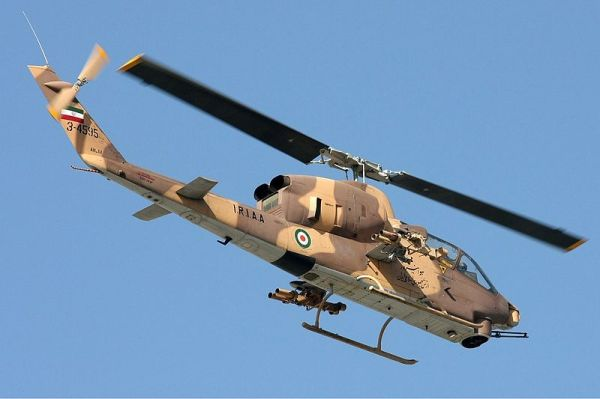 Iranian Cobra Helicopter