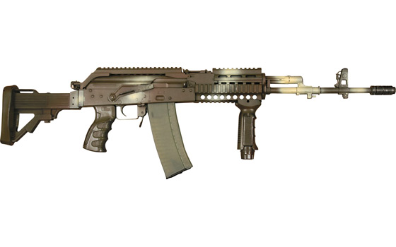 Polish Beryl 5.56 assault rifle