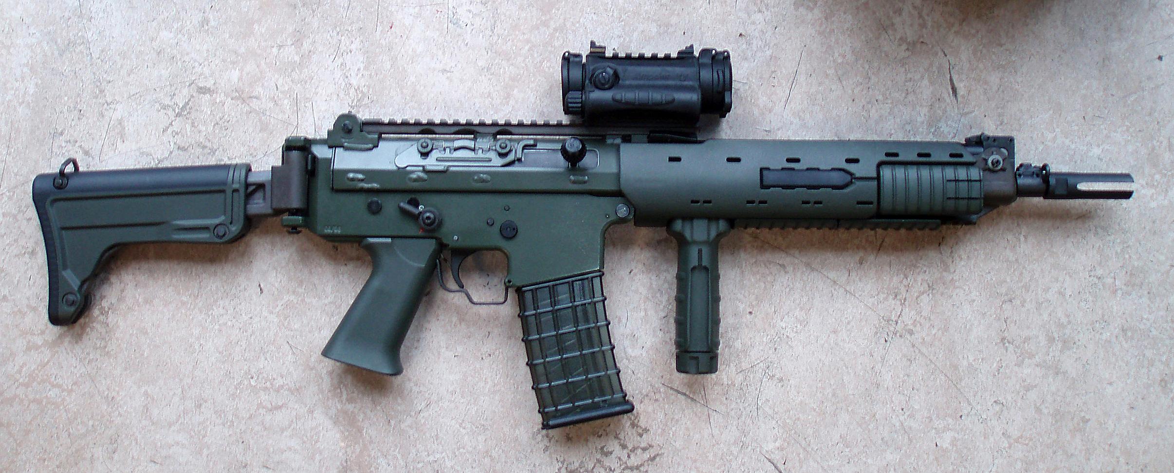 The Assault Rifles Of The Near Future   21st Century Asian