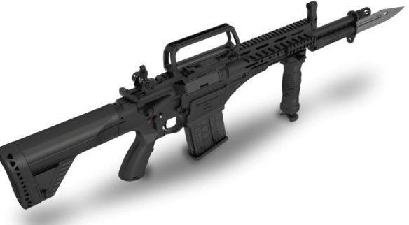 Updated: The Assault Rifles Of The Near Future | 21st