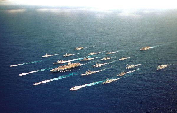 US Carrier Battle Group