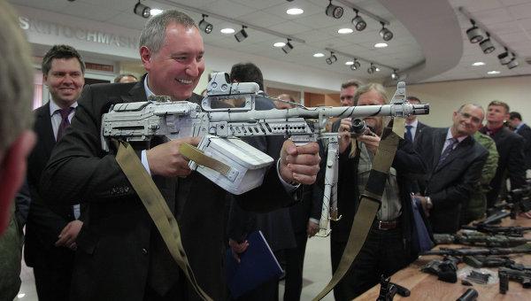 the russian military has a new machine gun