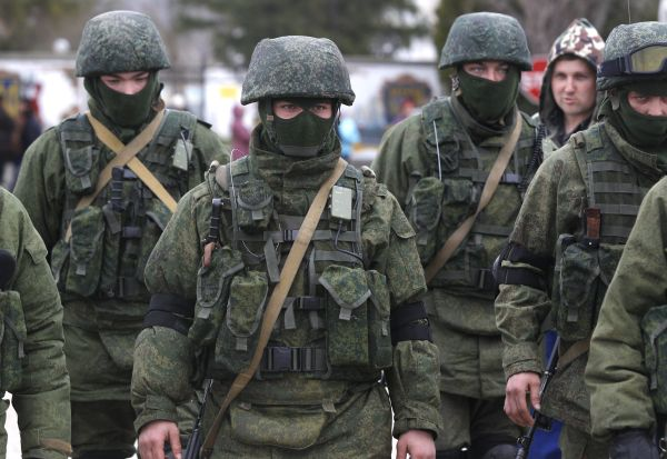 Russian Soldiers in Ukraine
