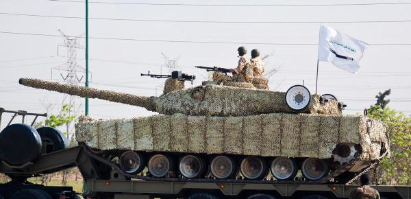 Iranian Zulfiqar MBT