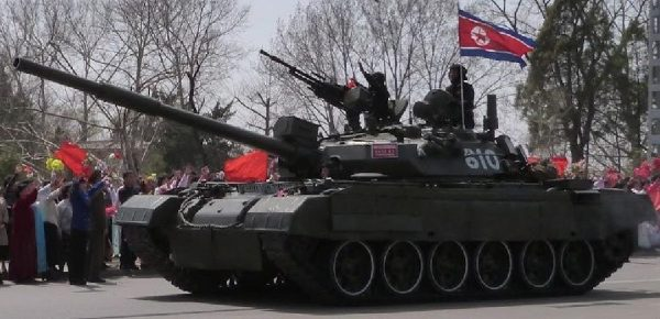 North Korean Songun-ho MBT