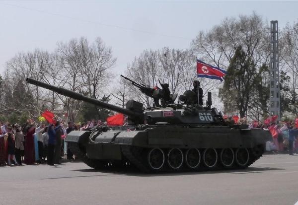 North Korean Songun-ho MBT
