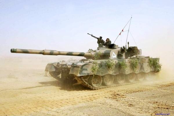 Pakistani Army MBT Al-Khalid