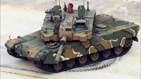 South Korean MBT K2