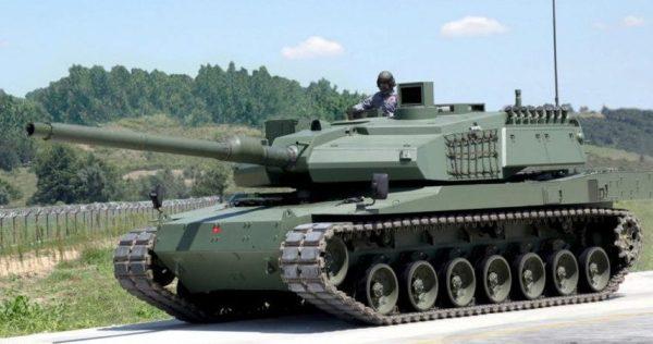 Turkish Altay MBT 2