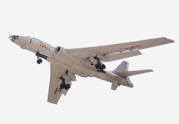 Chinese H-6 bomber