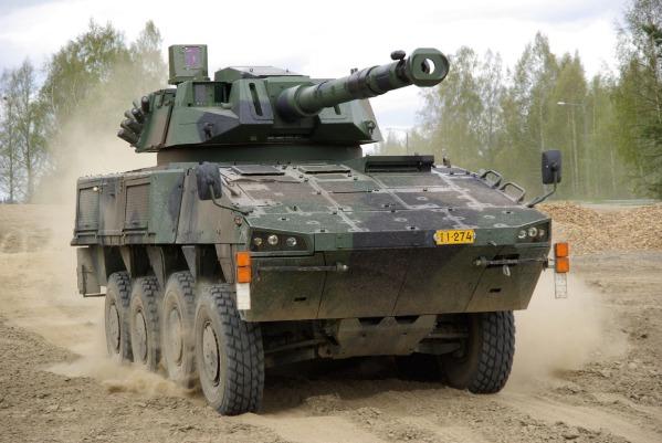 Finland Patria 8x8 v3