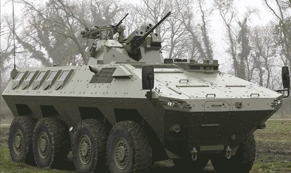 Serbia Lazar II 8x8 APC