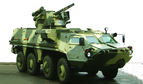 Ukrainian BTR-4