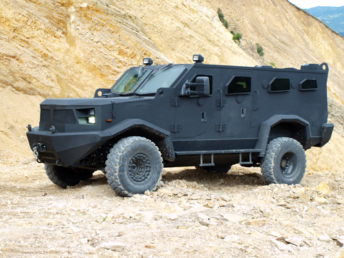 Armored Car Hunter TR-12