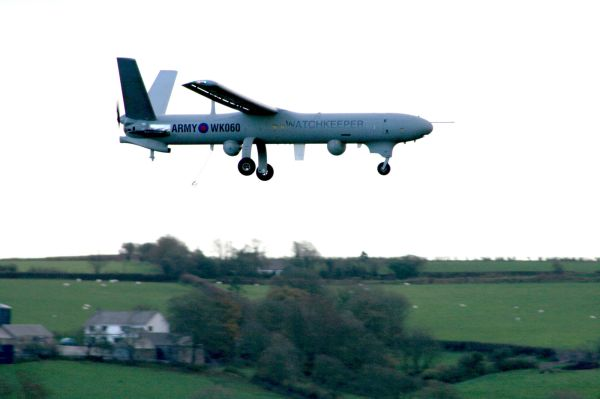 British Watchkeeper UAV
