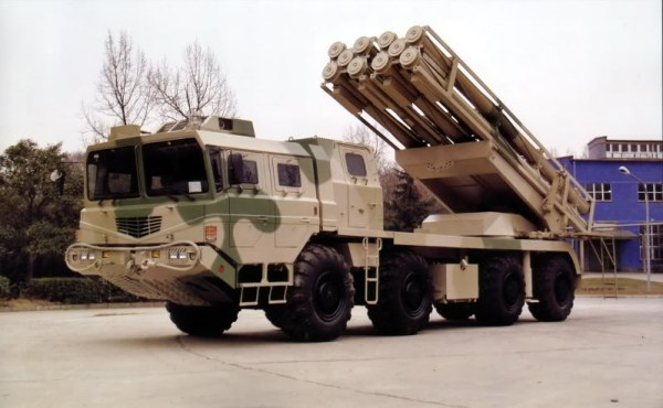 China's own: The Norinco 300mm A1 MLRS
