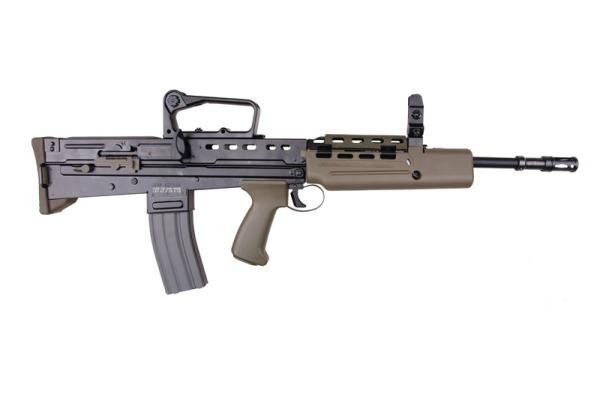 British L85A2 or SA80